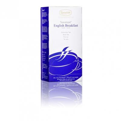 Ronnefeldt Teavelope English Breakfast Английский завтрак чёрный чай в пакетиках 25 штук  в упаковке 37,5 гр