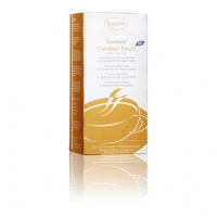 Чай Ronnefeldt Teavelope Caramel Peach BIO Карамельный персик ароматизированный черный в пакетиках 25 штук