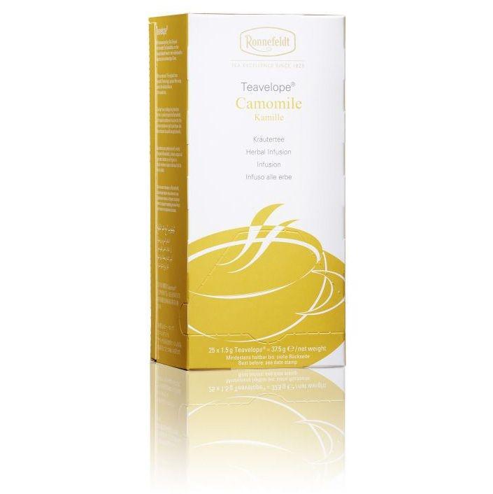 Ronnefeldt Teavelope Camomile Ромашка аптечная травяной чай 25 пакетиков  в упаковке 37,5 гр