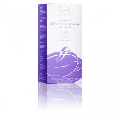 Ronnefeldt Teavelope Silver Lime Blossom Цветок серебристой липы травяной чай в пакетиках 25 штук  в упаковке 37,5 гр