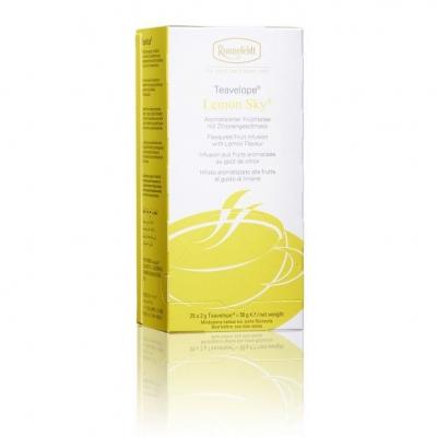 Ronnefeldt Teavelope Lemon Sky Лимонное небо ароматизированный фруктовый чай 25 пакетиков в упаковке 50 гр