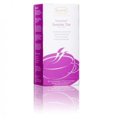 Ronnefeldt Teavelope Jasmin Жасминовый ароматизированный зеленый чай в пакетиках 25 штук  в упаковке 37,5 гр