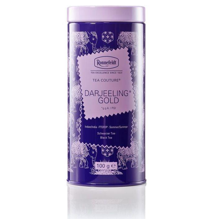 Ronnefeldt Tea Couture Darjeeling Gold Ти Кутюр Дарджилинг Голд Черный чай листовой 100 гр