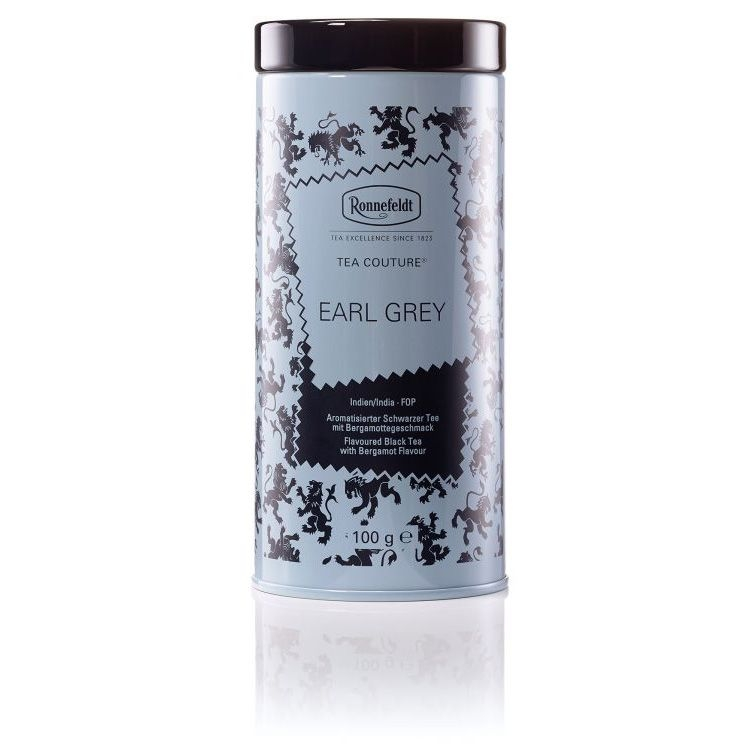 Ronnefeldt Tea Couture Earl Grey Ти Кутюр Эрл Грей Ароматизированный черный чай со вкусом бергамота листовой 100 гр