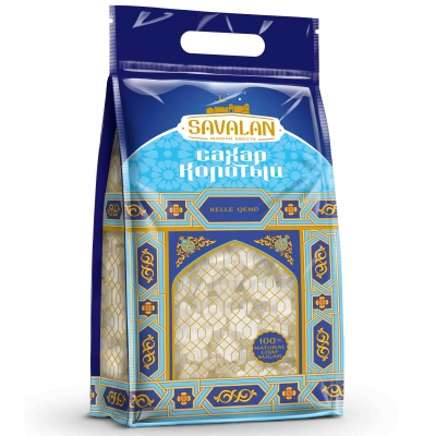 Savalan белый колотый твердый сахар 2 кг