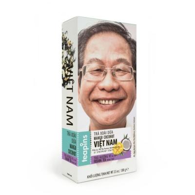 Чай черный Farmer's Tea Манго кокос 100 г Вьетнам