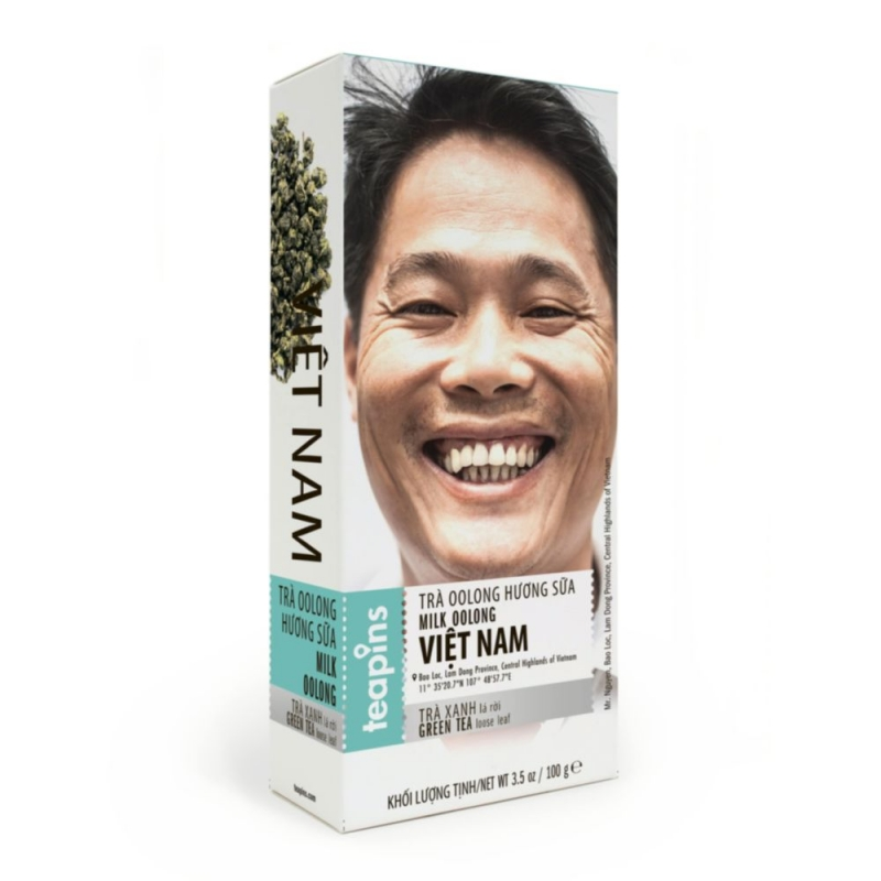 Чай улун Farmer's Tea Молочный улун 100 г Вьетнам