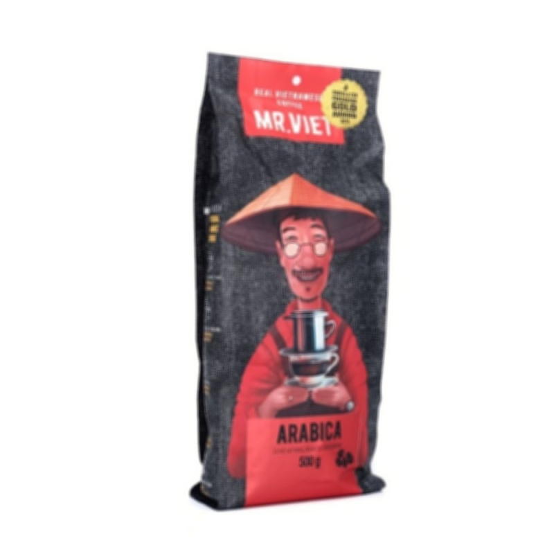 Кофе цельнозерновой Mr.Viet Арабика 500 г