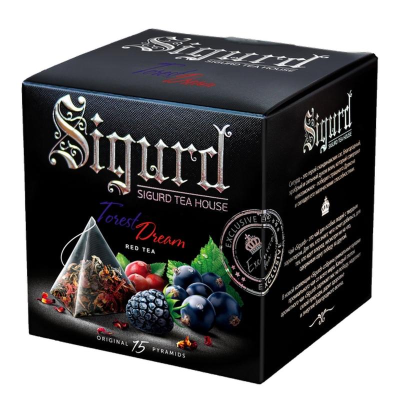 Чайный напиток фруктовый Sigurd Forest Dream в пирамидках 30 г