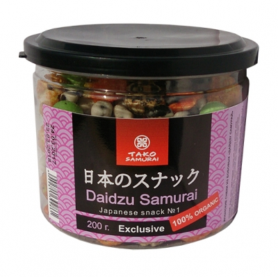 Tako Samurai Дайдзу Самурай Японский бобовый микс 200 г