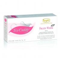 Ronnefeldt Tea Caddy Bio Fruity White Белый чай с фруктами ароматизированный в пакетиках 20штук  в упаковке 78гр