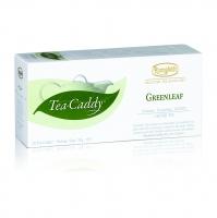 Ronnefeldt Tea Caddy Bio Greenleaf Гринлиф Зеленый чай в пакетиках 20штук  в упаковке 78гр