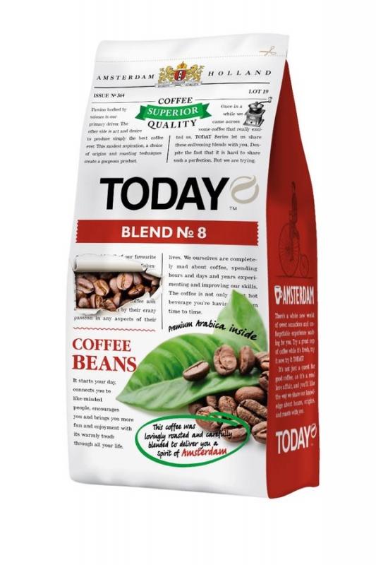 Кофе зерновой Today Blend 8 200 г
