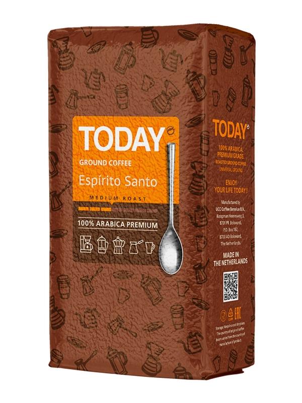Кофе молотый Today Espirito Santo Vacuum Pack 250 г