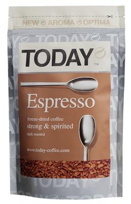 Кофе сублимированный Today Espresso 75 г