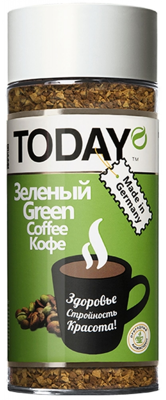 Кофе сублимированный Today Green 95 г