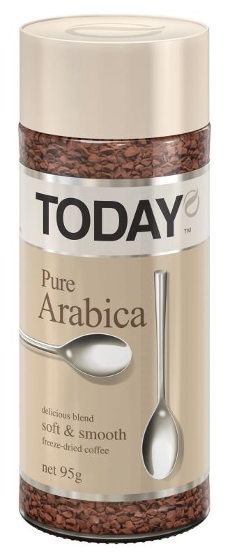 Кофе сублимированный Today Pure Arabica 95 г