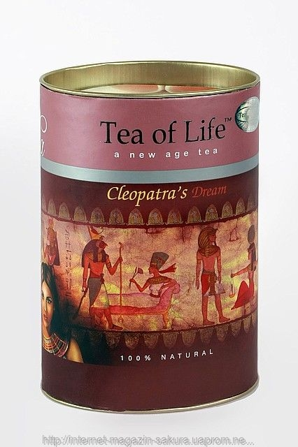 Чай черный листовой Tea of Life Cleopatra (Тиа оф Лайф Клеопатра) 100 гр