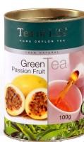 Чай зеленый листовой Tea of Life Passion Fruit (Тиа оф Лайф с маракуйей) 100гр