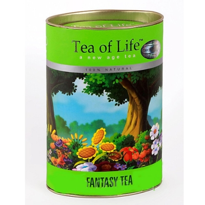 Чай черный с зеленым листовой Tea of Life Fantasy's (Тиа оф Лайф Фантазия) 100 гр