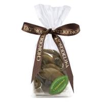 Chokodelika яблочные кусочки в шоколаде с карамелью 80гр