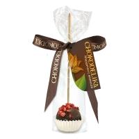 Chokodelika марципановые конфеты ручной работы на палочке с малиной 20 гр