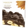 Chokodelika неровный шоколад темный с миндалем 160 гр