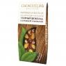 Chokodelika узорный шоколад с клубникой и миндалем 55 гр