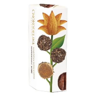 Chokodelika марципановые конфеты ручной работы с кофе 100 гр