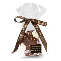 Chokodelika узорный шоколад с карамелью и воздушным рисом 70 гр