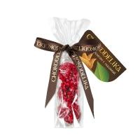Chokodelika марципановые конфеты ручной работы с малиной 60 гр