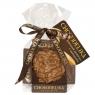 Chokodelika шоколадные плюшки шоколад молочный карамельный с миндалем 30 гр