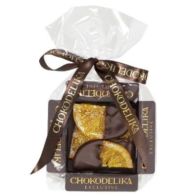 Chokodelika фрукты и ягоды в шоколаде Апельсиновые дольки в темном шоколаде 42 гр