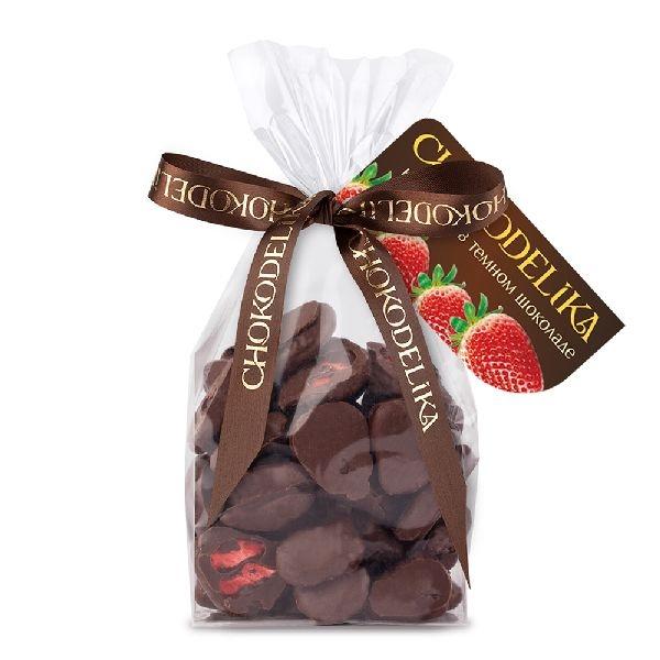 Chokodelika фрукты и ягоды в шоколаде «Клубника в темном шоколаде» 80 гр