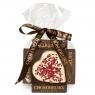 Chokodelika марципановые фигуры ручной работы «Сердце марципановое в белом шоколаде» 30 гр