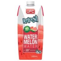 Арбузная вода UFC Refresh 500 мл