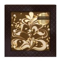 Chokodelika Узорный шоколад карамель и воздушный рис (блистер) 80 г
