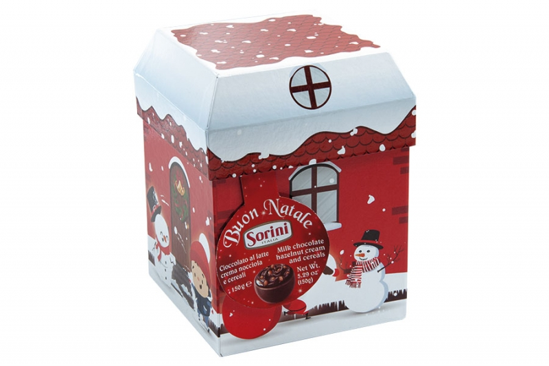 Конфеты Sorini Christmas Houses новогодний домик 150 г