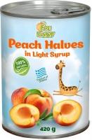 Персики в сиропе (половинки) FRUYAMMY 420 г