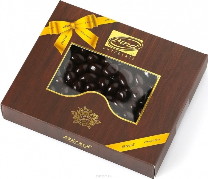 Шок. конфеты Bind Апельсиновая цедра покрытая темным шоколадом 100 грамм