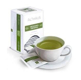Чай зеленый Althaus Альтхаус Сенча Сенпай пакетированный для чашки