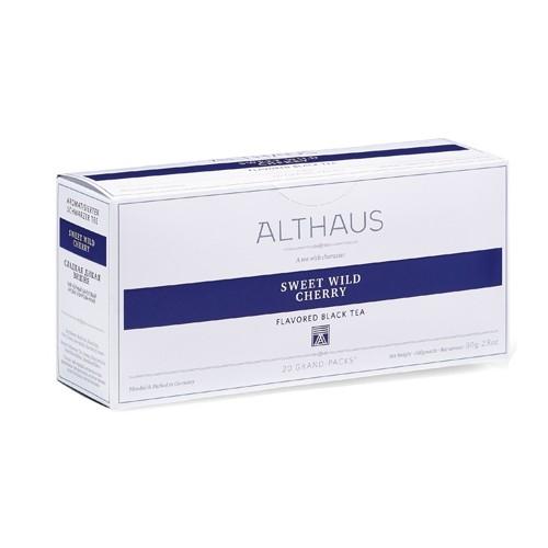 Чай черный Althaus (Альтхаус) Дикая вишня пакетированный для чайника