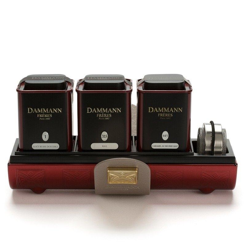 Подарочный набор чая Dammann Amarant Малиновый