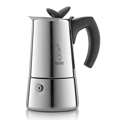 Гейзерная кофеварка Bialetti Musa (Биалетти Муса) на 4 чашки 240 мл