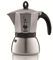 Гейзерная кофеварка Bialetti Moka Induction антрацит на 6 чашек 240 мл