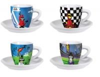 Подарочный набор Bialetti Sport  4 чашки