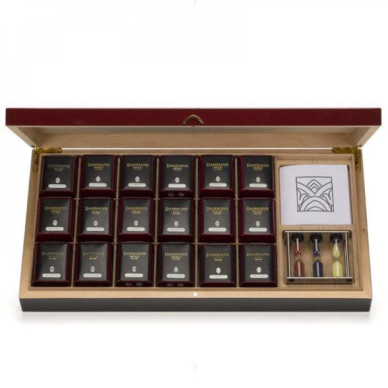 Подарочный набор чая Dammann Carmin
