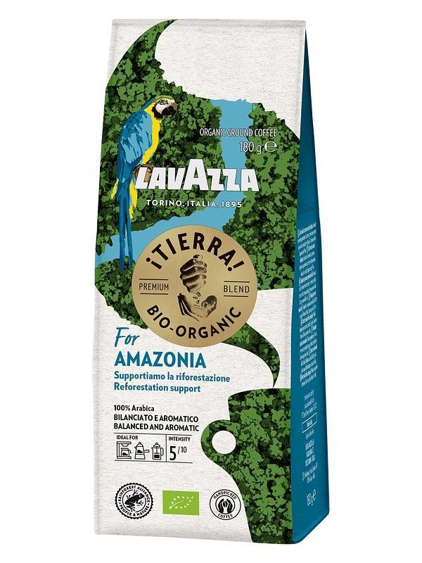 Кофе молотый Lavazza Tierra BIO Amazonia 180 г