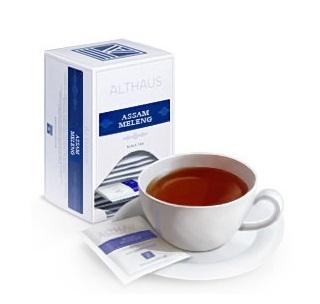 Чай черный Althaus Альтхаус Ассам Меленг пакетированный для чашки