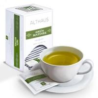 """Чай зеленый Althaus Альтхаус""""Грюн Матинэ"""" пакетированный для чашки"""